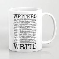 WRITERS WRITE! Mug