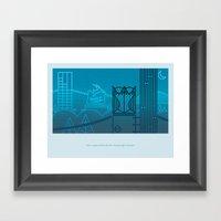 Natural Born Rodent Killers (Pt. 1) Framed Art Print