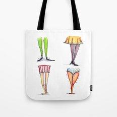 Legwork Squared Tote Bag