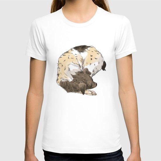 Sleeping Dog #002 T-shirt