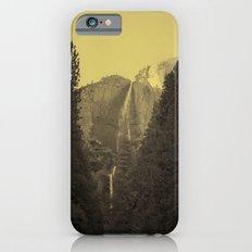 Yosemite Falls Tin Yellow Slim Case iPhone 6s