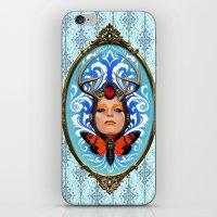 Cicada Queen iPhone & iPod Skin