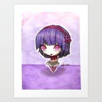 Grape berry Art Print