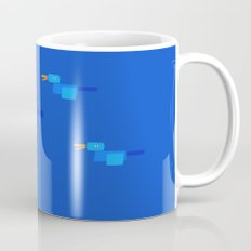 Happy Bird-Blue Mug