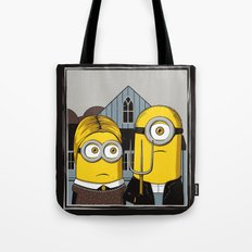 Minion Gothic Tote Bag
