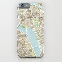 Boston Sepia Watercolor … iPhone 6 Slim Case