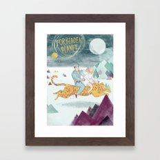 Forbidden Planet Framed Art Print
