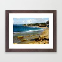 Aguada Framed Art Print