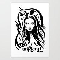 Wisdom Art Print