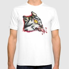 Cyclopes wolf  Mens Fitted Tee SMALL White