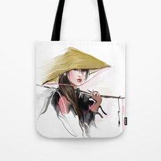 Vietnamese girl Tote Bag
