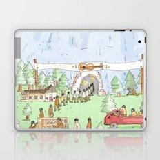 The Mountian. Laptop & iPad Skin