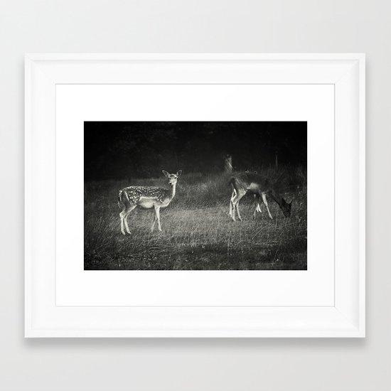 Listen! Framed Art Print