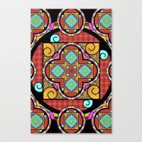 Best Blanket Mandala Canvas Print