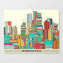 Minneapolis city  Canvas Print