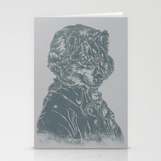 Wolf Amadeus Mozart Stationery Card