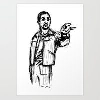 The Jesus Art Print