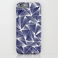 TriangleAngle (Navy) iPhone 6 Slim Case