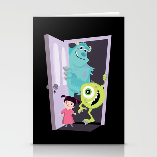 Monsters inc. Stationery Card