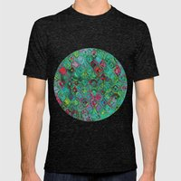 Ripple Effect Mens Fitted Tee Tri-Black SMALL