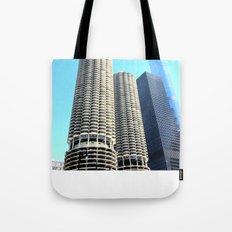 Marina City Tote Bag