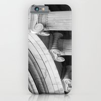 Classical marble columns in black and white iPhone 6 Slim Case