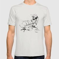 _life like a fly Mens Fitted Tee Silver SMALL