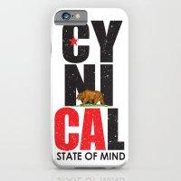 iPhone & iPod Case featuring CyniCAl by Amanda Jonson