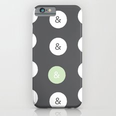 spot color ampersand Slim Case iPhone 6s