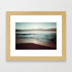 Lomo Waves Framed Art Print