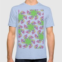 Punchy Colours Mens Fitted Tee Athletic Blue SMALL