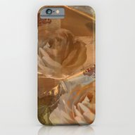 Textured Flowers, Leaves… iPhone 6 Slim Case