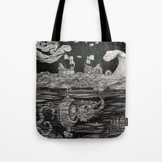 Jupiter's Guide For Submariners Tote Bag