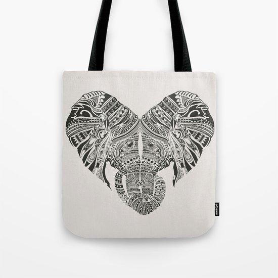 Huge Heart Tote Bag