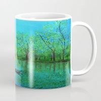 Lake reflection Mug