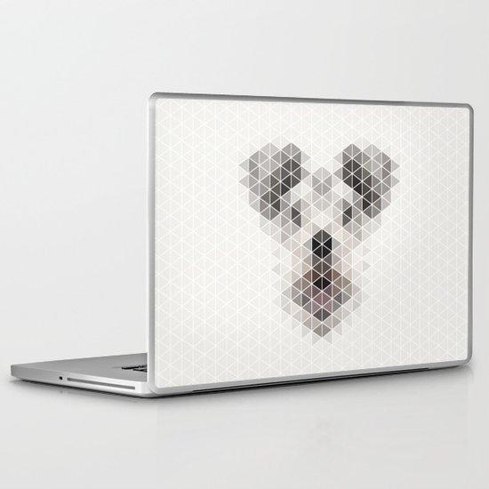 Happy pup Laptop & iPad Skin