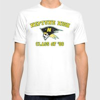 Neptune High Class Of '0… Mens Fitted Tee White SMALL