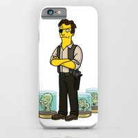 iPhone & iPod Case featuring The Walking Dead cast by Adrien ADN Noterdaem