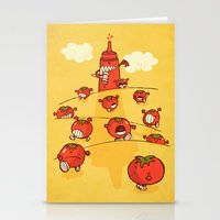 We were tomatoes! Stationery Cards