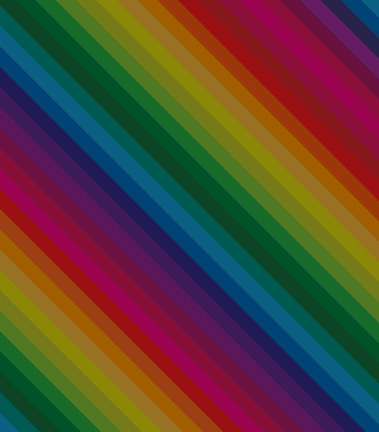 Sophisticated Rainbow Art Print