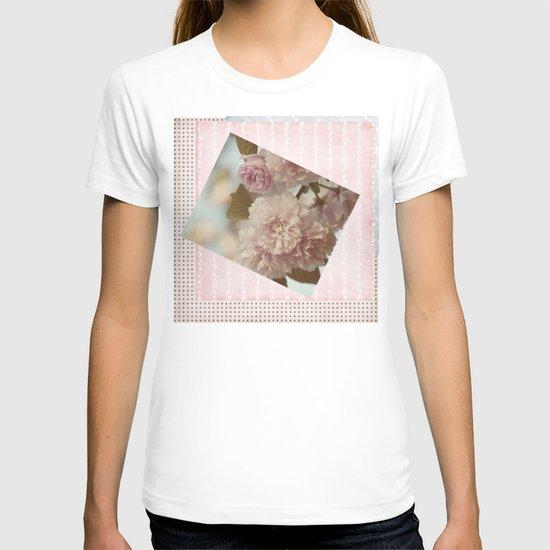 Yaezakura -- Double Cherry T-shirt