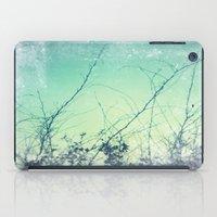 sea plants (teal) iPad Case