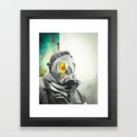 Lung Blood Framed Art Print