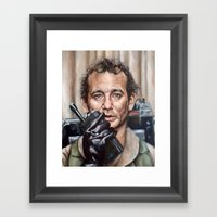 Bill Murray / Ghostbusters / Peter Venkman / Close-Up Framed Art Print