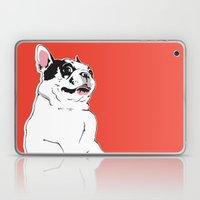 Boston Terrier Side-Eye Laptop & iPad Skin