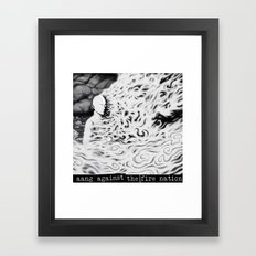 Aang Against the Fire Nation Framed Art Print