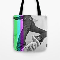 Human abstract Tote Bag