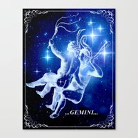 Karin Gemini. Canvas Print