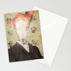 HAVING ONE'S HEAD SCREWED ON STRAIGHT Stationery Cards