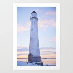 The Lighthouse. Art Print